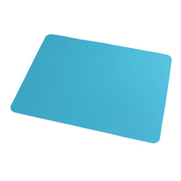 Wholesale Silicone Computer Mouse Pad - Rectangle Teal Silicone Nonslip Mouse Pad Mat for Computer