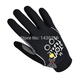 Wholesale Road Bike Winter Gloves - Tour de France winter cycling gloves full finger bicycle road bike mtb gloves bicycle glove mountain bike gloves full fingers