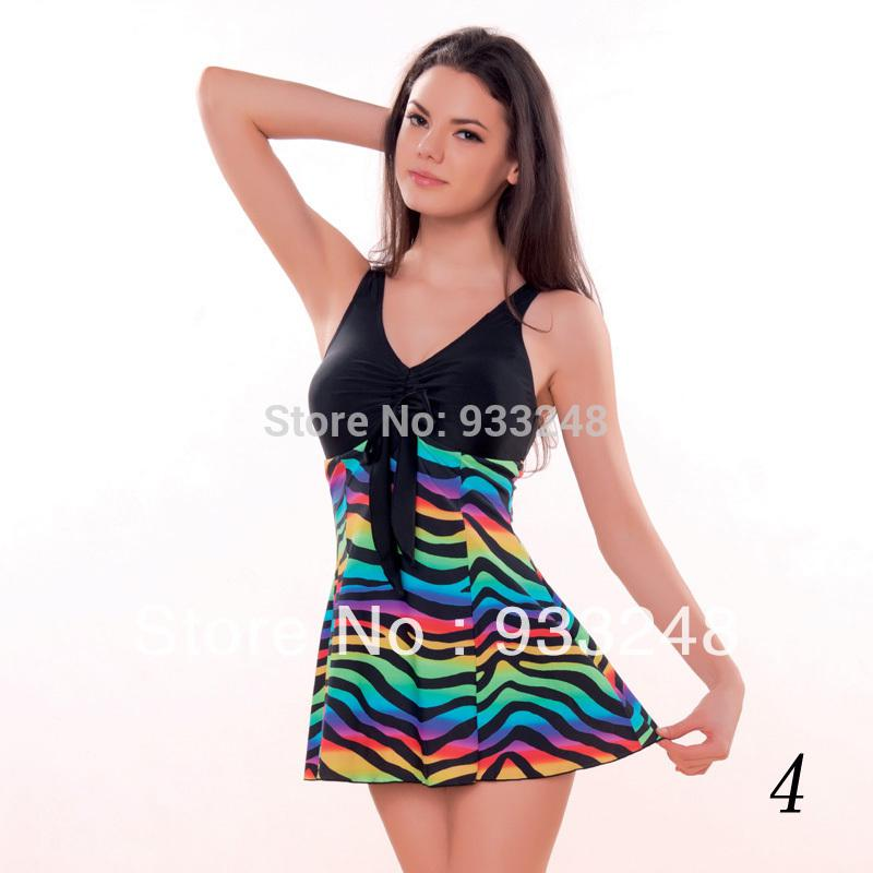 Wholesale Ladies Swimming Dress One Piece Swimwear Bathing Suits