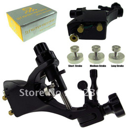 Wholesale Rotary Swiss Made - Wholesale-Stigma Bizarre V2 rotary tattoo machine gun good quality black color good motor swiss made
