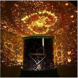 Wholesale Colorful Puzzle Lamp - Wholesale-2015 new lava lamp Cupid Master Light LED projector Lamps novelty amazing colorful puzzle lamp
