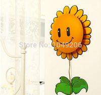 Wholesale Novelty Pigs - Wholesale-2015 New Novelty DIY 3D Sticker Wall Paper Lamp Baby Childern Bedroom Cartoon Dog Sunflower Pig Night Light