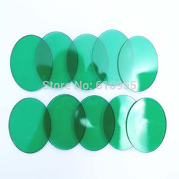Wholesale-Green Coated Glass Lens 42mm(Diameter)x2.0mm(Thickness) for UltraFire C8 Flashlight Coupons