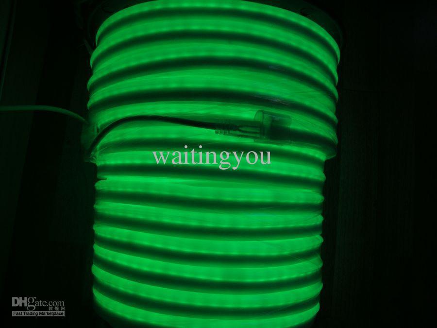 Wholesale-LED Neon sign light flex rope PVC LED rope light for Night bar Disco AC220V/110V