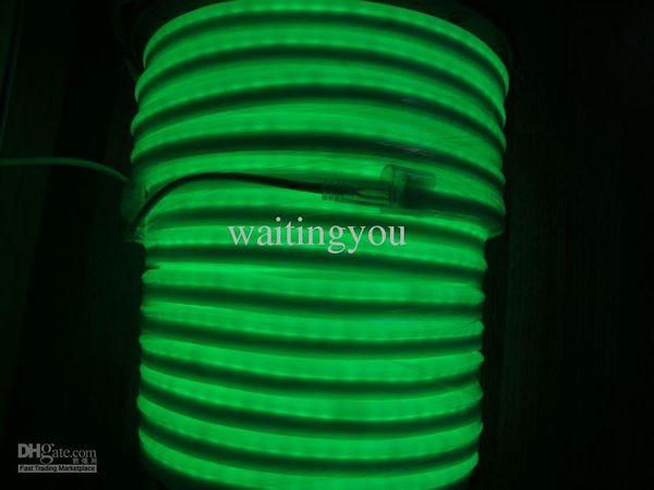 الجملة-الصمام ضوء النيون تسجيل المرن حبل PVC الصمام ضوء حبل لشريط ليلة ديسكو AC220V / 110V