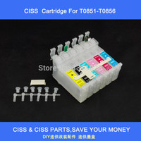 Wholesale Ciss Ink Cartridge For Epson - T0851-T0856 ciss ink cartridge with combo chip for Espon stylus photo1390