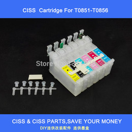 Wholesale Epson Cartridge Chips - T0851-T0856 ciss ink cartridge with combo chip for Espon stylus photo1390