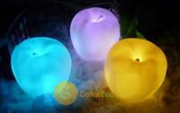 ingrosso l'umore della mela-All'ingrosso-migliore scelta dollarzoo 7 Cambia colore Apple a forma di LED Natale Mood lampada Night Light Alta qualità Superba!