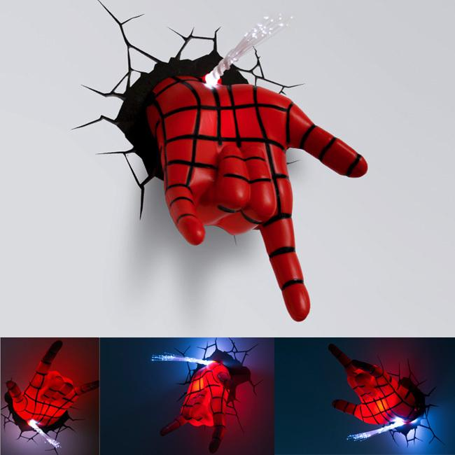 Online Cheap Wholesale Creative Fantastic Spiderman Hand 3d Wall ...