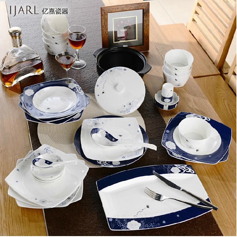 Dinnerware Sets Yijia Japanese European Cute Korean Dishes Bowl Dish Dishes 56 Head Bone Ceramics Tableware Set Dinnerware Sets Dinnerware Sets Dinnerware ... & Dinnerware Sets Yijia Japanese European Cute Korean Dishes Bowl Dish ...