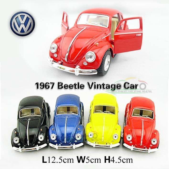 Wholesale-1:32 Beetle 1967 Classic Vw Cars Kids Antique Model Toys ...