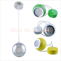 Wholesale Apple European - Wholesale-4 Colors AC85-260V 770LM European Style Luxury Living Dining Restaurant Room Modern LED Apple Chandelier Lamps Light Bulb Bulbo