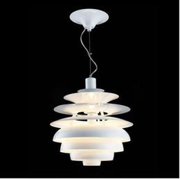 Vente en gros-Livraison chaude Vente en gros Louis Poulsen PH Snowball Lampe Danemark Moderne Lumière Suspendue Par Poul Henningsen ? partir de fabricateur