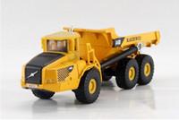 Wholesale Kaidiwei Models - Wholesale-Free shipping KAIDIWEI 1:87 Volvo A40D type Dumper truck Alloy model toys