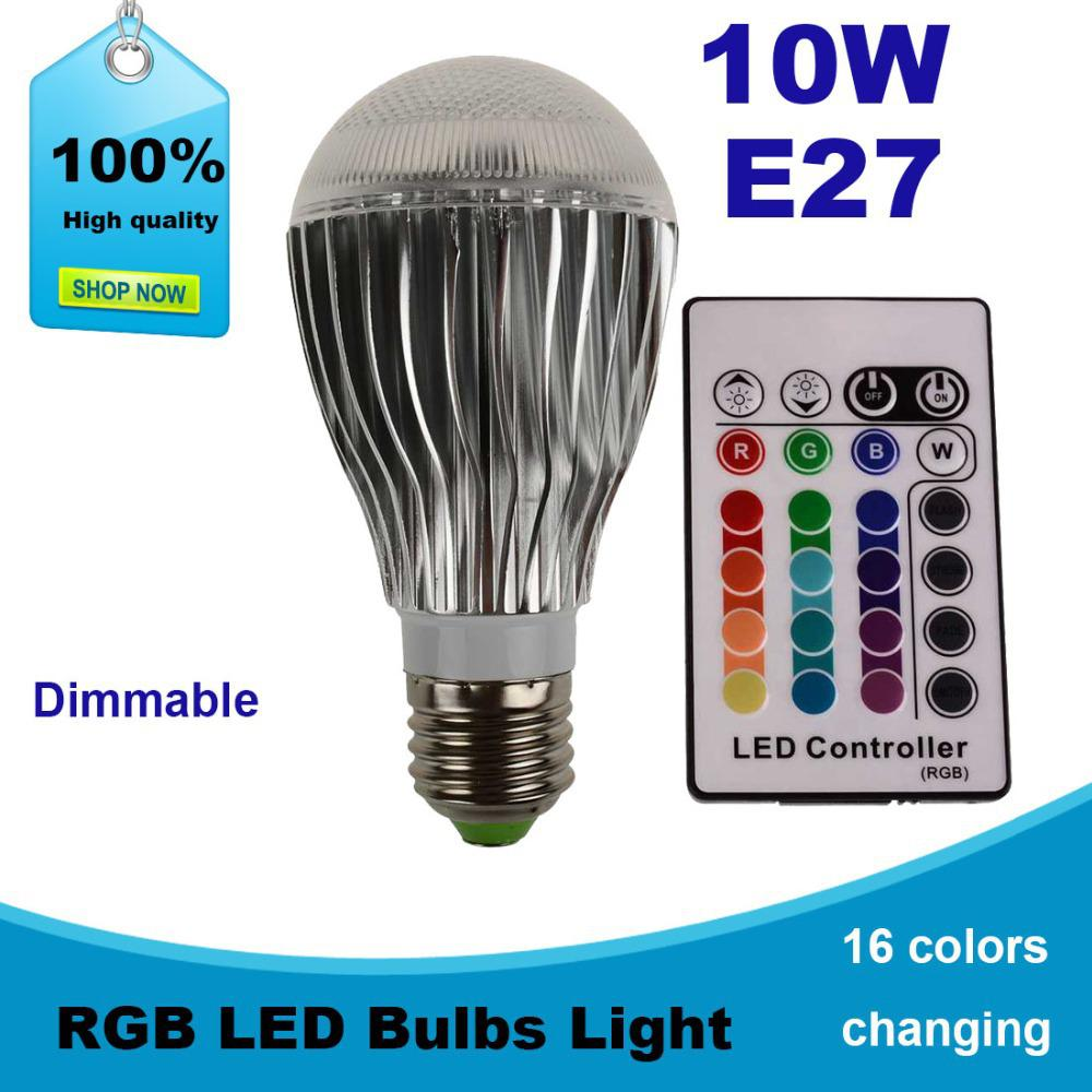 2018 wholesale 10w led lamp e27 220v rgb led light bulbs 2018 wholesale 10w led lamp e27 220v rgb led light bulbs spotlights dimmable remote control for dining table light from jigsaw 1658 dhgate parisarafo Image collections