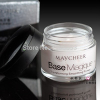 Wholesale Magic Smooth Silky Face Skin Makeup Primer Invisible Pore Wrinkle Cover Concealer Use before foundation Amazing Effect