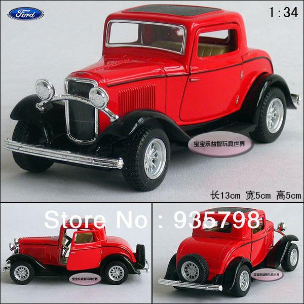 Wholesale-Retail KINSMART 1932 FORD Classic Car Alloy Car
