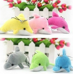Wholesale Soft Teddy Bears Wholesalers - Wholesale-Toys-Dolphin Small Pendant Soft Toy 2015 British Aristocrat MaMas&papas Smooth Obedient Dolphin Toys for Children Plush Toys
