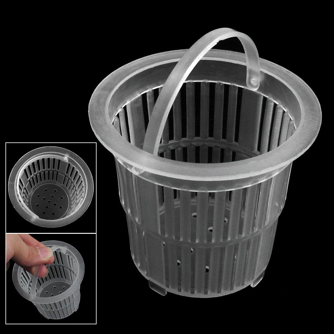 wash basin water sink white plastic basket shape drainer strainer - Strainer Basket