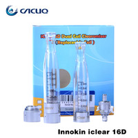 Wholesale Ego Iclear - Original Innokin Iclear 16D Electronic Cigarette Atomizers For Ego Battery Replacement Dual Coil Innokin Ego Clearomizer