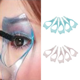 Wholesale Mascara Comb Brush - Wholesale-Delicate 10Pcs 3 in 1 Pro Home Use Mascara Eyelash Brush Curler Lash Comb Cosmetic Auxiliary Device Women Lady Makeup Accssories
