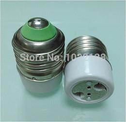 Wholesale E12 Adapters - Wholesale-10pcs lot E27 TO MR16 E27 TO G4 LED socket adapter Halogen bulb base Lamp holder E27-MR16 E27-G4 E27-G5.3 lamp adapter Converter