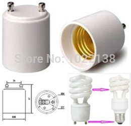 Wholesale Led Track Bulbs - Wholesale-20pcs GU24 to E27 led Lamp Adapter Light Bulb Lamp Holder Converter Free Shipping With Tracking No.