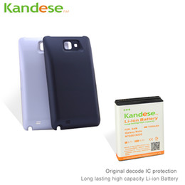 Wholesale Note High Capacity Battery - KANDESE Brand New High Capacity 7200mAh Li-ion repalcement Extended battery for Samsung Galaxy Note N7000 i9220 Free shipping