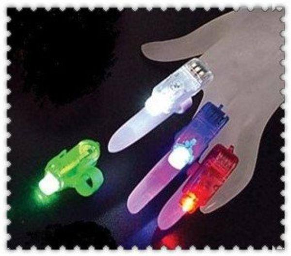 300pcs/lot Christmas Gift Laser finger finger flashlights, LED Laser Finger light led light(No packaging) Free Shipping