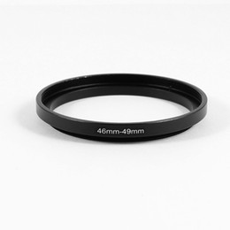 Wholesale Step Up Adapter Ring - 46mm to 49mm Camera Filter Lens 46mm-49mm Step Up Ring Adapter
