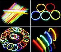 Wholesale Sailor Bracelets Wholesale - Wholesale - 100pcs 1 Lot hot glow led flashing lighting bracelet glow sticks Free Shipping