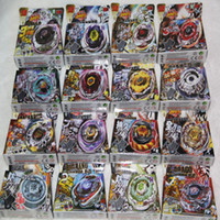 Wholesale Big Metal Spinning Top - 16pcs different style 4D Beyblade Metal Fusion Hot Sales Beyblade, Beyblade Spin Top Toy Mix 16 Model Shipping To You
