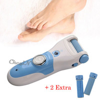 Wholesale Dead Head - Electric Foot Callus Remover Feet Care Tool Dead Skin Exfoliating Removal Pedicure Kit + 2pcs Roller Grinding Head Replacement Z25