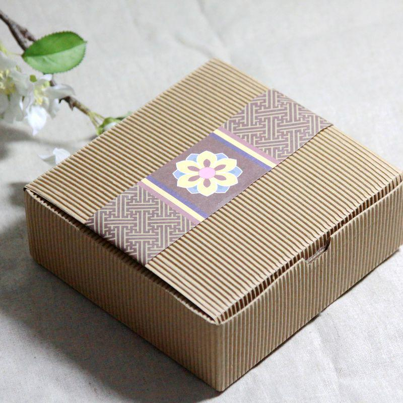 Cake Box Decoration Beauteous Corrugated Kraft Paper Square Cake Box Cookie Dessert Sweets Design Inspiration