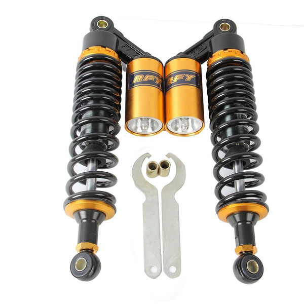 """best selling 13.5"""" 340mm RFY Air Shock Absorbers For Yamaha VMAX Suzuki GS500 Honda CB 500"""