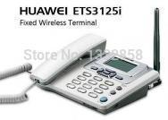 Wholesale Huawei Gsm Phones - Original Huawei ETS3125i GSM fwp,gsm fixed wireless telephone,desk telephone, wireless phone with FM radio 900 1800MHz