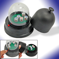 Wholesale Automatic Dice Roller Cup Battery Powered with Dices