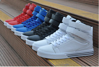 Wholesale Wedge Sneakers Wholesale - Wholesale-New 2015 unisex brand sport shoes fashion platform wedge women and men justin bieber hip hop sneakers plus size 36-44