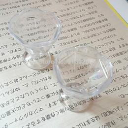 Wholesale Dollhouse Cups - Wholesale-Wholesale 20pcs Mini Parfait Cup DIY Art Crafts Cute Transparent Glasses PVC Miniature Dollhouse Cups MC009 Free Shipping