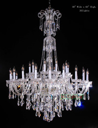 Wholesale Modern Crystal Pendant Foyer Chandelier - lamp modern crystal chandeliers 5 Star hotel chandelier led crystal candle chandeliers large elegant crystal chandelier foyer