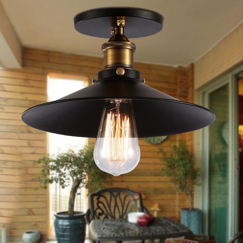 Industrial Energy Efficient Flush Mount Ceiling Lights