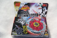 Wholesale Mini Toy Crowns - New Arrive!! Beyblade 4D System Top Rapidity HELL CROWN 130FB BB116C With Launcher