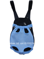 Wholesale Retail Carrier Bags - Wholesale-Retail Blue Free Shipping Four Legs Out Pet Dog Cat Carrier Bag Free Ship Bag for Dog