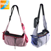 Wholesale Doggy Shoulder Bag - Wholesale-Free Shipping Pet Dog Cat Puppy Doggy Single-Shoulder Bag Carrier Carrying Dog Cat Travel Bag Red,Blue