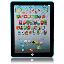 Wholesale Education Babies Toys - Wholesale-English Language Table Learning Touching Screen Computer Model for Children Early Education Toys for Kids Learning Tablet