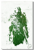 Wholesale Halo Master - Wholesale-Halo 4 5 Master Chief FPS Silk Wall Poster 36x24 26x14 inch Boy Room Prints (002)