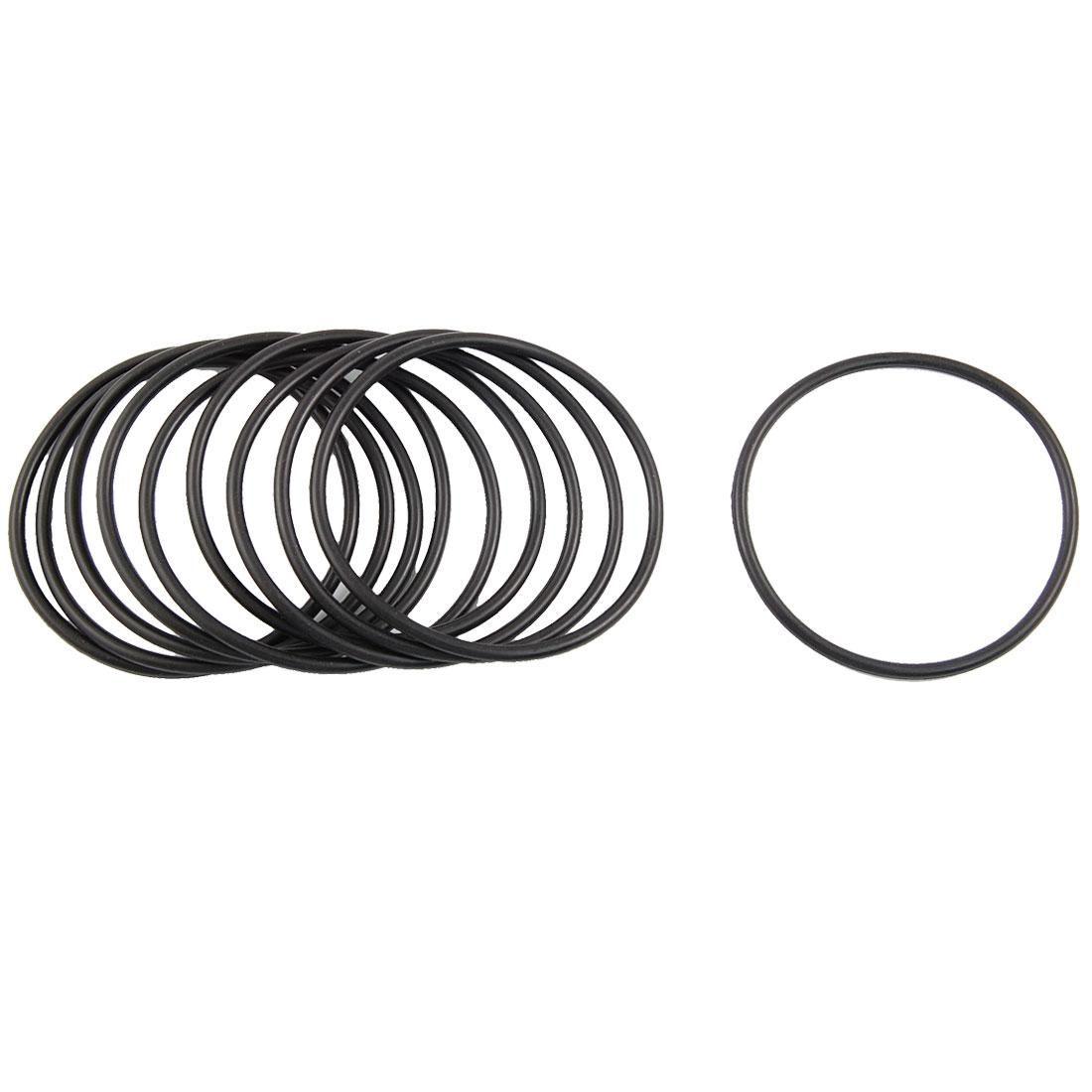 2018 Black Nitrile Rubber O Ring Grommets Seal 68mm X 75mm X 3.5mm ...