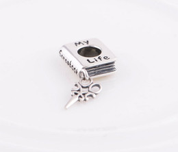 Wholesale Scrapbook Christmas - New 925 Sterling Silver Jewelry Life Scrapbook Charm Beads Christmas Gifts Suitable for Pandora Charm Bracelets & Necklaces