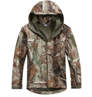 camuffamento All'ingrosso-Bionic, Mossy Oak Infinity softshell impermeabile, giacca uomo, giacca invernale Realtree caccia hoodie + free