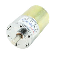 Wholesale DC V RPM mm Dia Electric Speed Reducing Mini Gearbox Motor